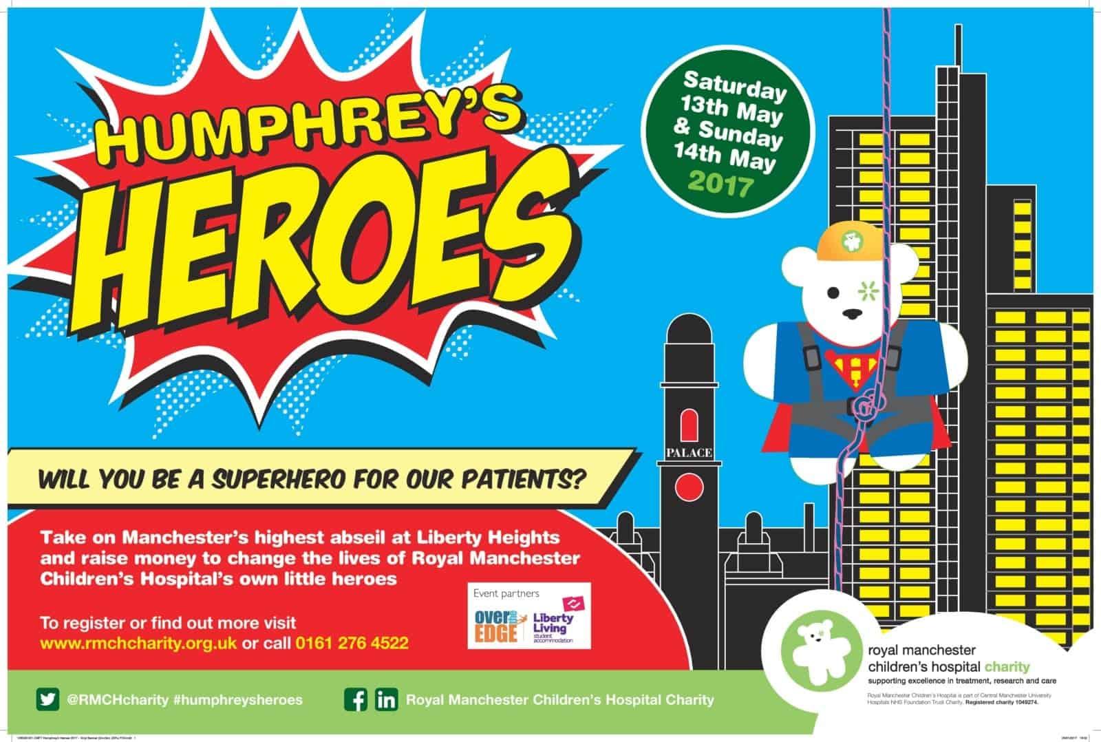 Humphrey's Heroes charity banner