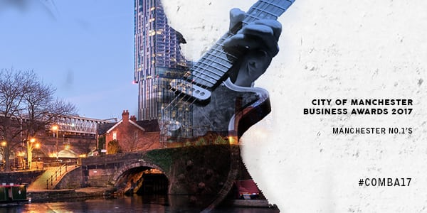 City of Manchester Business Awards banner