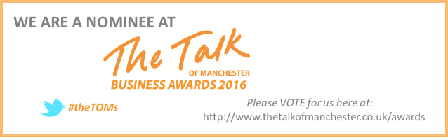 The Talk of Manchester nominee banner